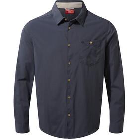 Craghoppers NosiLife Nuoro LS Shirt Men steel blue